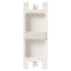 Бокс для рабочего места открытого монтажа на 4 двойных адаптера (4 вертикальных ряда, 16 модулей) | T1194 | ABB