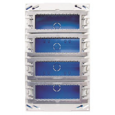 Бокс поста централизации скрытого монтажа на 24 модуля (4 ряда) | T1094.1 | ABB