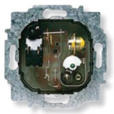 Механизм комнатного терморегулятора с нормально-закрытым контактом, 10А/250В | 8140 | ABB