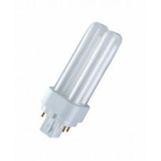 Лампа энергосберегающая КЛЛ 18Вт G24q-2 840 U образная DULUX D/E | 4050300017617 | OSRAM