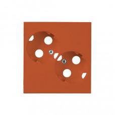Накладка двойной розетки ProDuct, оранжевый | AUD09-03 | ABB