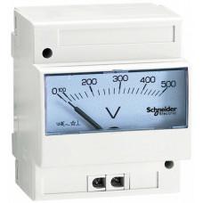 ВОЛЬТМЕТР АНАЛОГОВЫЙ 0-500В | 16061 | Schneider Electric