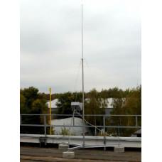 Молниеприемная конструкция 5 метров, в комплекте с бетонными опорами EKF | lr-5-cem-b | EKF