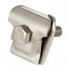 Соединитель прутка 1 болтовой универсальный мини нерж., 6-10 EKF | con-st-6-10 | EKF