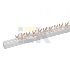 Шина соединительная типа FORK (вилка) 2Р 100А (дл.1 м) | YNS11-2-100 | IEK