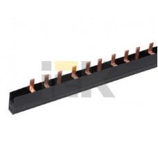 Шина соединительная PIN 4Р 100А шаг 27 мм (дл. 1м) | YNS51-4-100 | IEK
