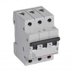Выключатель автоматический трехполюсный RX3 4500 20А C 4,5кА | 419709 | Legrand