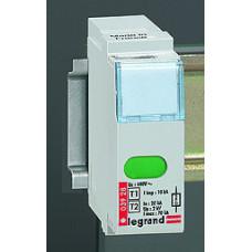 Сменный модуль для устройств защиты от импульсных перенапряжений - для устройств Кат. № 0 039 30/31/32/33 - Imax 40 кА   003934   Legrand