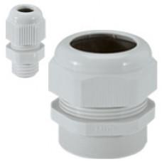 Уплотнитель пластиковый - IP 55 - ISO 32 - диаметр кабеля 18-25 мм - RAL 7035   096806   Legrand