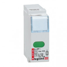 Сменный модуль для устройств защиты от импульсных перенапряжений - для устройств Кат. № 0 039 20/21/22/23 - Imax 70 кА   003928   Legrand