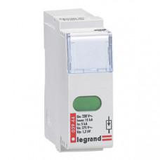 Сменный модуль для устройств защиты от импульсных перенапряжений - для устройств Кат. № 0 039 40/41/43 - Imax 15 кА   003944   Legrand