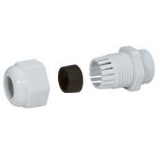 Уплотнитель пластиковый - IP 55 - P.G. 13.5 - диаметр кабеля 7-12 мм - RAL 7035   096823   Legrand