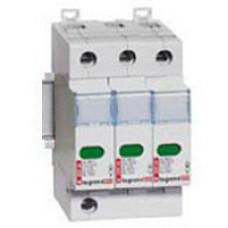 Устройство защиты от импульсных перенапряжений - защита высшего уровня - Imax 70 кА - 3П   003922   Legrand