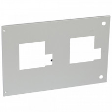 Металлическая лицевая панель - XL3 4000 - для 2 DPX 630 съёмного исполнения - для АВР с моторными приводами   021295   Legrand