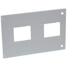 Металлическая лицевая панель - XL3 4000 - для 2 DPX 630 съёмного исполнения - для АВР   021294   Legrand