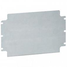 Монтажная плата - из оцинкованной стали - для промышленных коробок Atlantic - IP 66 - 200x500 мм | 035669 | Legrand