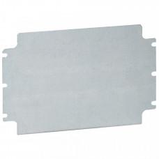 Монтажная плата - из оцинкованной стали - для промышленных коробок Atlantic IP 66 400x600 мм | 035673 | Legrand