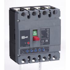 Автоматический выключатель 4P 250А c Ir=100А-250А 50кА   21161DEK   DEKraft