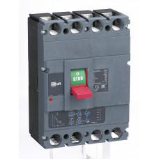 Автоматический выключатель 4P 400А c Ir=160А-400А 70кА   21163DEK   DEKraft