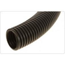 Труба гибкая гофрированная ПНД d32мм (черная) с зондом тяжелая | 23211 | Рувинил