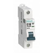 Выключатель автоматический однополюсный ВА-105 6А B 10кА | 13103DEK | DEKraft