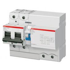 Выключатель автоматический дифференциальный DS802S 2п 125А C 300мА тип A (8 мод) | 2CCA862005R0844 | ABB