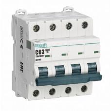 Выключатель автоматический четырехполюсный ВА-105 10А B 10кА | 13140DEK | DEKraft