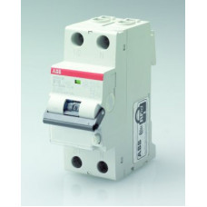 Выключатель автоматический дифференциальный DS201 L 1п+N 6А C 300мА тип AC | 2CSR245040R3064 | ABB