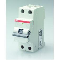 Выключатель автоматический дифференциальный DS201 L 1п+N 10А C 300мА тип AC | 2CSR245040R3104 | ABB