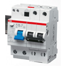 Выключатель автоматический дифференциальный DS202 M 2п 50А B 30мА тип AC (4 мод)   2CSR272001R1505   ABB