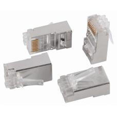 Разъём RJ-45 FTP для кабеля SOLID кат.6   CS3-1C6FS   ITK