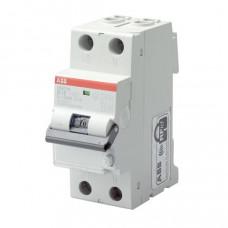 Выключатель автоматический дифференциальный DS201 L 1п+N 6А C 30мА тип AC | 2CSR245040R1064 | ABB