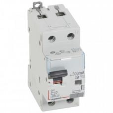 Выключатель автоматический дифференциальный DX3 6000 1п+N 32А С 300мА тип AС | 411027 | Legrand