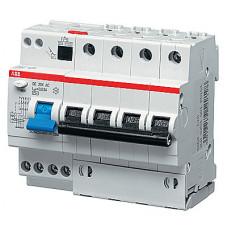 Выключатель автоматический дифференциальный DS204 M 4п 13А B 30мА тип AC (6 мод)   2CSR274001R1135   ABB
