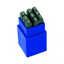 Цифры штамповочные 5 мм | 130202 | Haupa