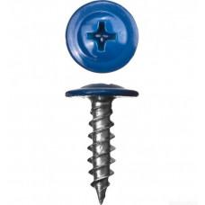 Саморез ШСММ 4,2х16 синий KP RAL 5010 (200шт) - ведро малое | 125521 | Tech-KREP