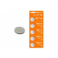 Элемент питания CR2430 Lithium 3V BP-5 | SQ1702-0030 | TDM