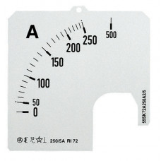 Шкала для амперметра SCL 2/100 60MV   2CSM230189R1041   ABB