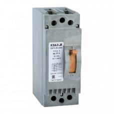 Выключатель автоматический ВА13-29-2200-1,6А-3Iн-690AC-У3 | 107677 | КЭАЗ