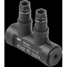 Зажим герметичный соединительный ЗГС 4-35 (BPC P35) | UZG-S4-S35 | IEK