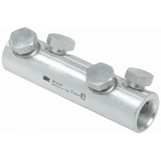Алюминиевая механическая гильза со срывными болтами АМГ 240-300 до 1 кВ   UZA-29-S240-S300-1   IEK