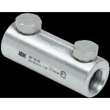 Алюминиевая механическая гильза со срывными болтами АМГ 120-185 до 1 кВ   UZA-29-S120-S185-1   IEK