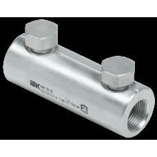 Алюминиевая механическая гильза со срывными болтами АМГ 50-95 до 1 кВ   UZA-29-S50-S95-1   IEK