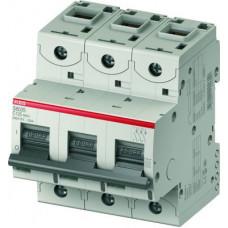 Выключатель автоматический трехполюсный S803C 80А C 25кА (S803C C80) | 2CCS883001R0804 | ABB