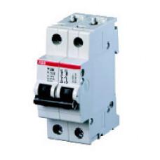 Выключатель автоматический двухполюсный M202 10А K 25кА (M202 10A) | 2CDA282799R0101 | ABB
