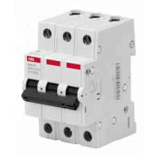 Выключатель автоматический трехполюсный BMS413C63 63А C 4,5кА (BMS413C63) | 2CDS643041R0634 | ABB
