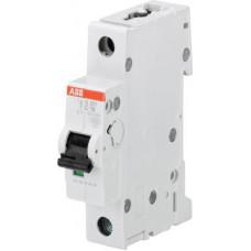 Выключатель автоматический однополюсный S201M 63А C 10кА (S201M C63) | 2CDS271001R0634 | ABB