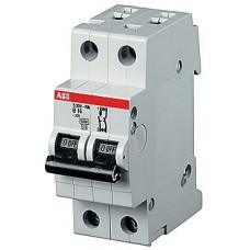 Выключатель автоматический двухполюсный (1п+N) S201P 50А D 15кА (S201P D50NA) | 2CDS281103R0501 | ABB