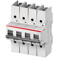 Выключатель автоматический четырехполюсный S804S R 80А B 50кА (S804S-B80-R)   2CCS864002R0805   ABB