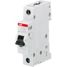 Выключатель автоматический однополюсный S201M 6А Z 10кА (S201M Z6) | 2CDS271001R0378 | ABB